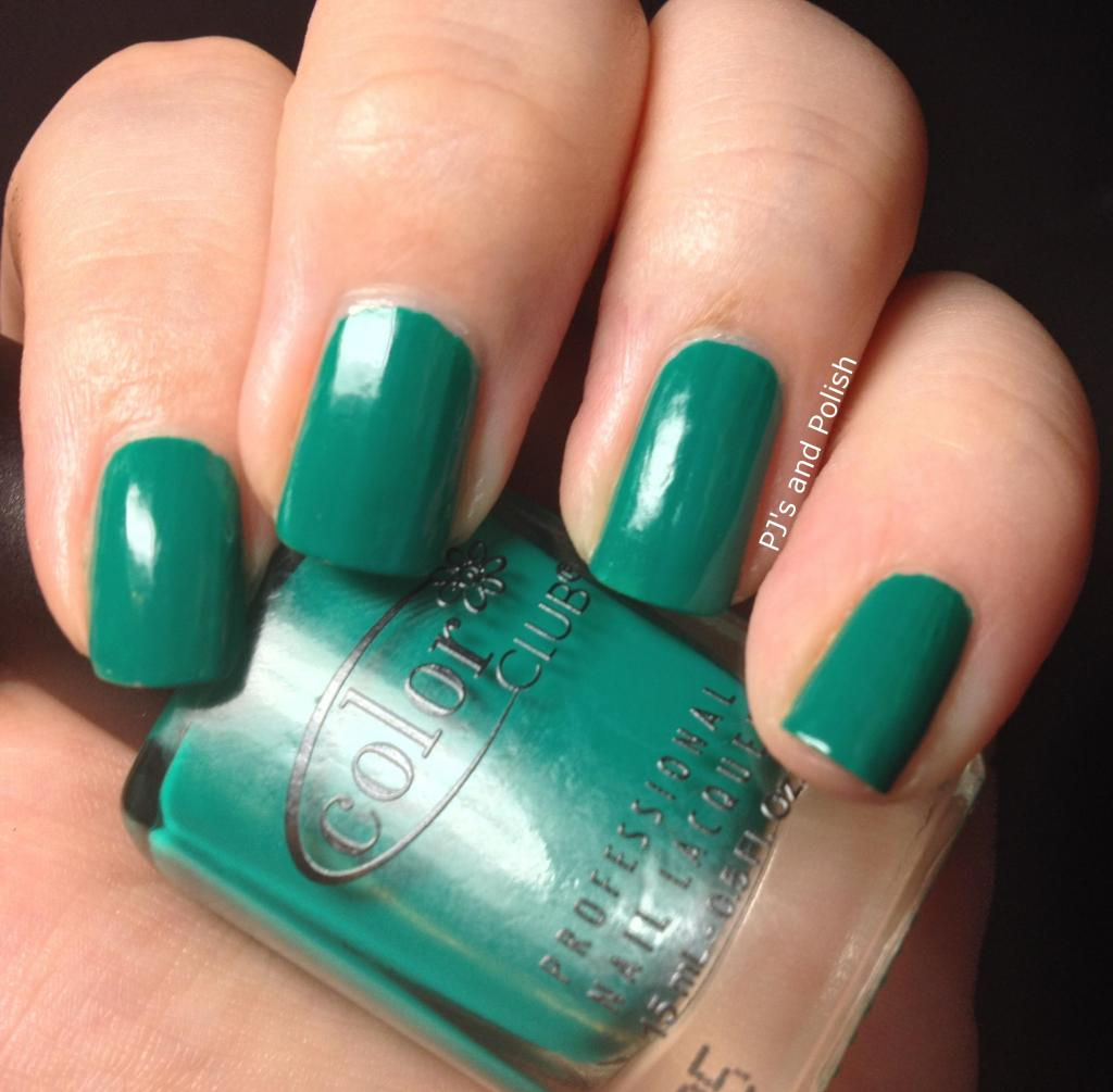 Swatch Review Color Club Wild Cactus Fiesta Collection HK Girl