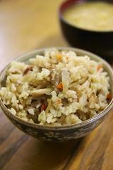 炊き込みご飯/雑穀ご飯のお弁当