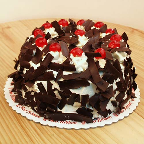Black Forest Cake Red Ribbon
