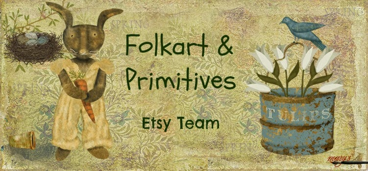 Sculpted Goods at Folkart and Primitives