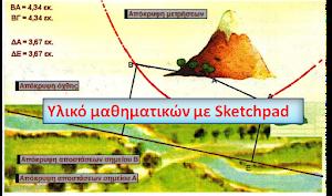 Υλικό μαθηματικών με Sketchpad