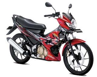 Spesifikasi Satria FU 150 2012