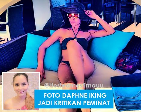 Foto s eksi Daphine Iking jadi kritikan peminat instagram nya