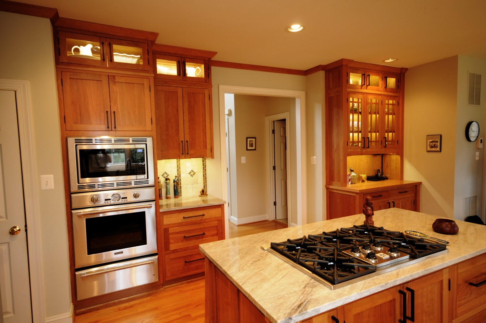 Arts & Crafts Kitchen  A Cherry Hill Classic Remodel