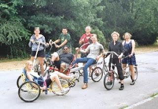 lambeth Cyclists at London Recumbants
