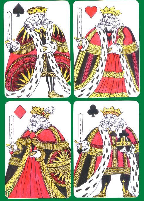 4 kings card games