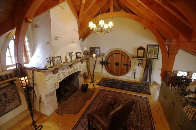 pix grove real life hobbit house