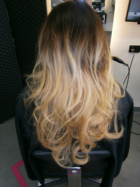 My gasoline rainbow romantic bouncy blow dry by nv design - The catwalk hair salon ...