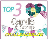 in de top 3 bij cards en scrap
