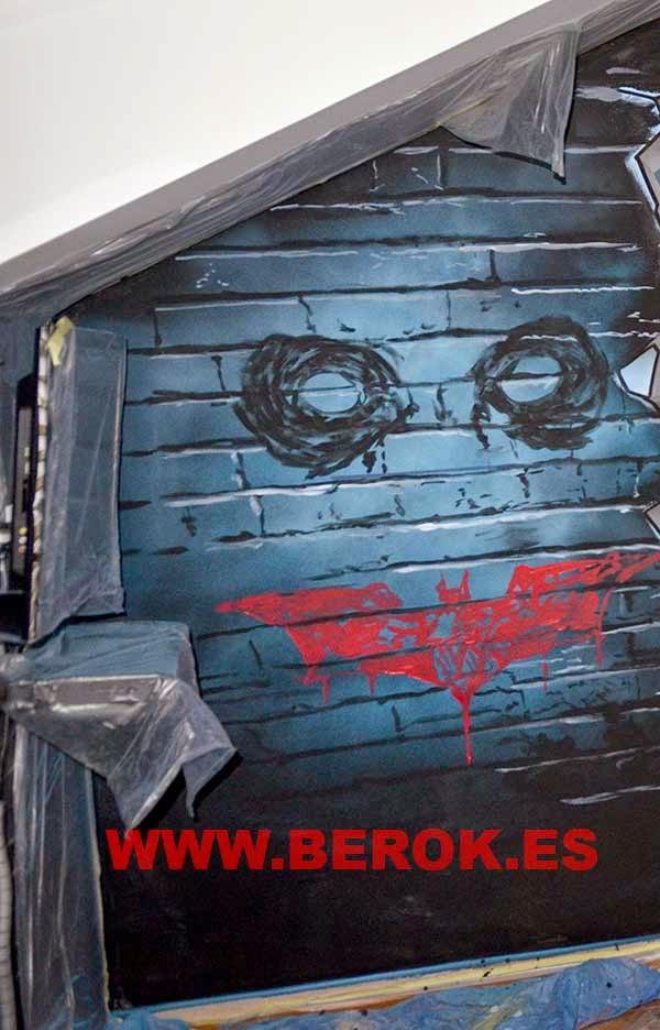 Decoración graffitis Jocker