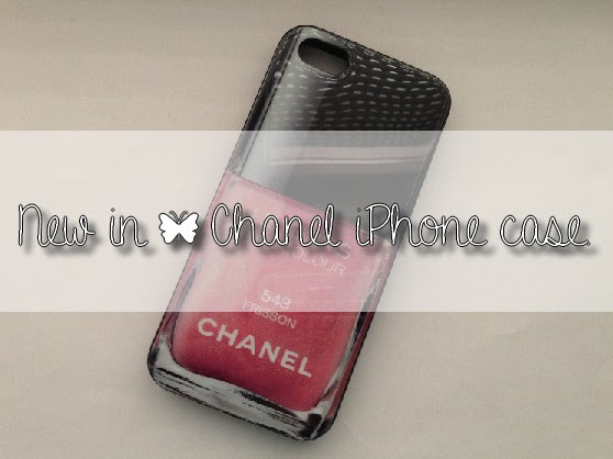 NEW IN | Chanel iPhone 5 case.