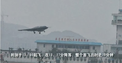 China's Stealth SharpSword Drone