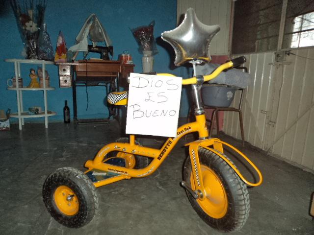 Mi Bendicio Triciclo