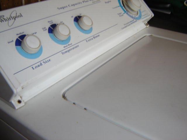whirlpool washing machine problems