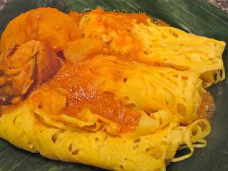 roti jala,Malaysian,net bread