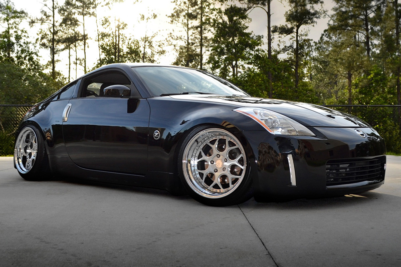 custom wheels nissan 350z