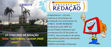 Convite - Concurso de Redação