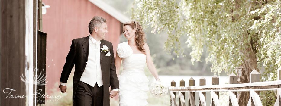 Bryllup i Eidsfoss, fotograf til bryllup Trine Bjervig, Tønsberg