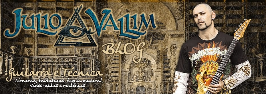 JULIO VALLIM GUITAR - BLOG