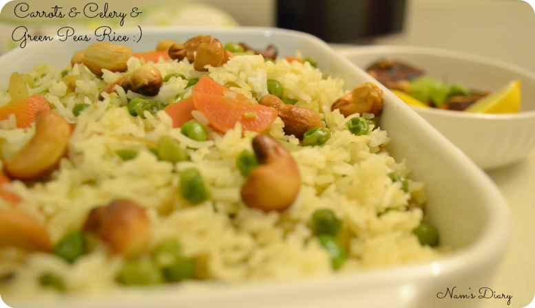 Veg Variety Rice {easy peasy}