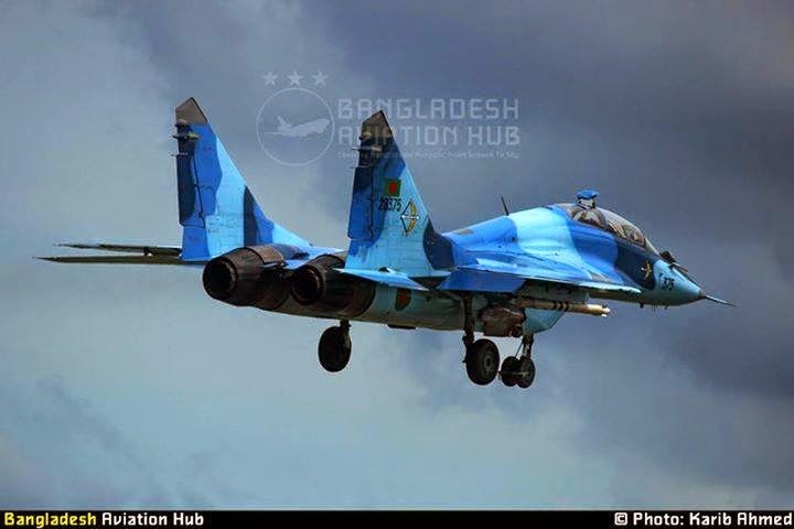 Mig-29UB of Bangladesh Air Force