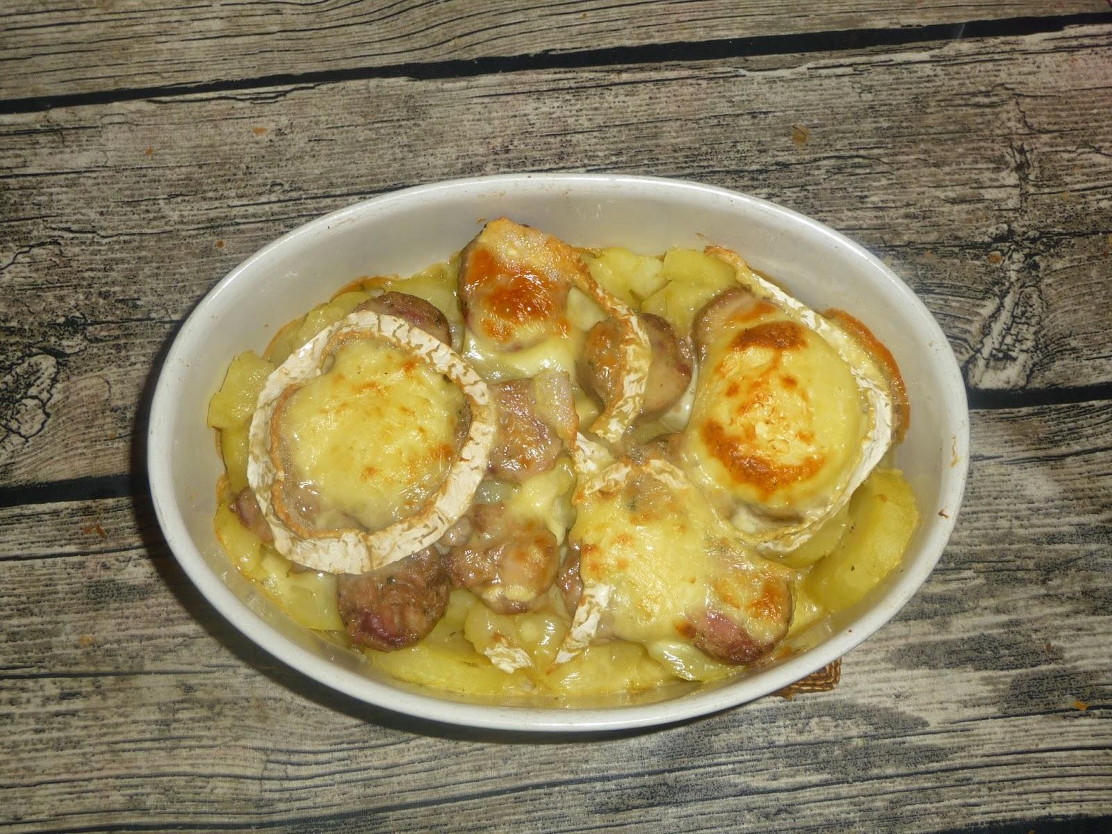 Cuill re aiguille et scie sauteuse gratin troyen andouillette pomme de terre chaource - Accompagnement andouillette grillee ...