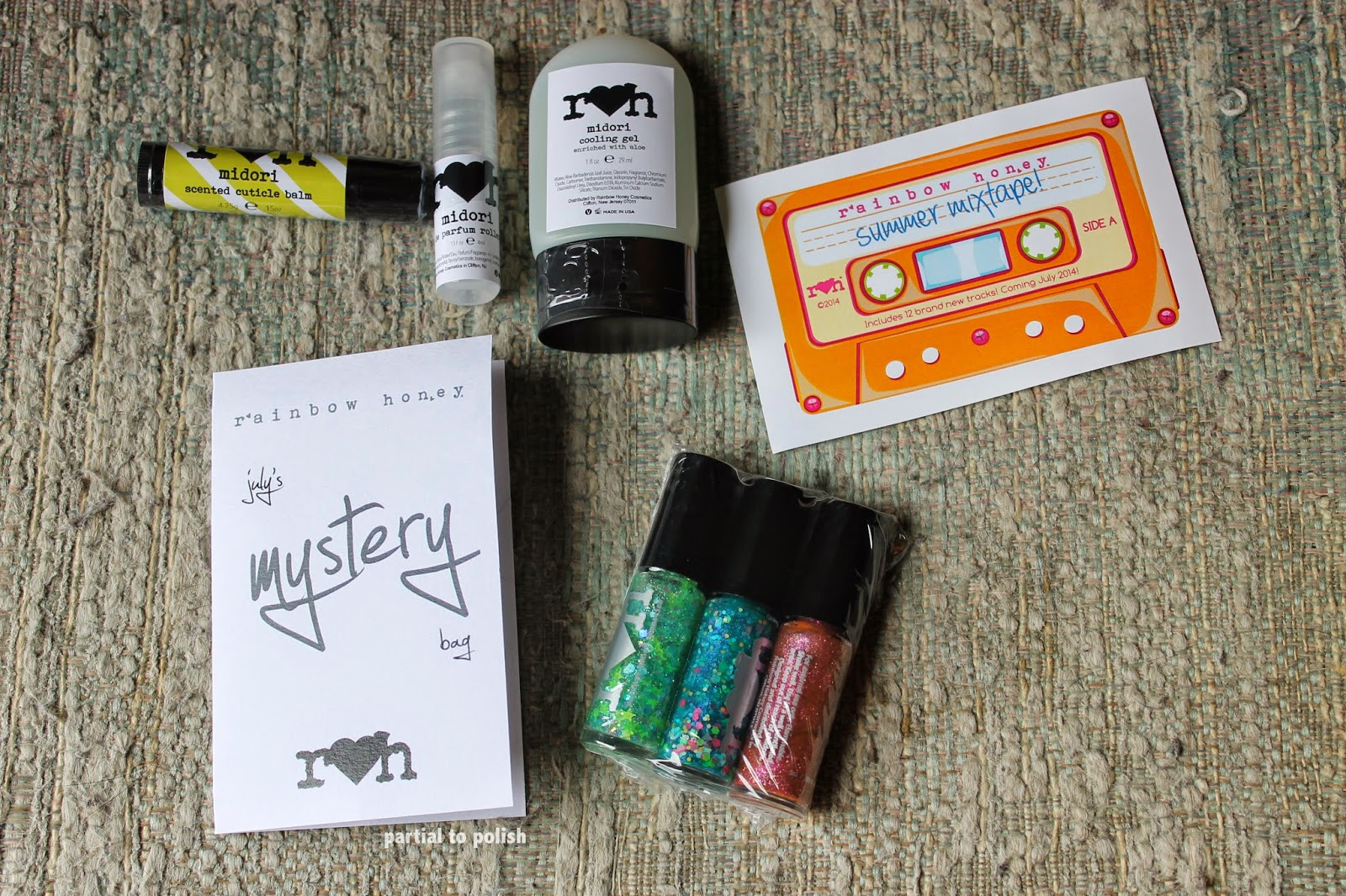 Rainbow Honey July Mystery Bag