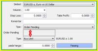 Jenis atau Tipe Order dalam Trading Forex