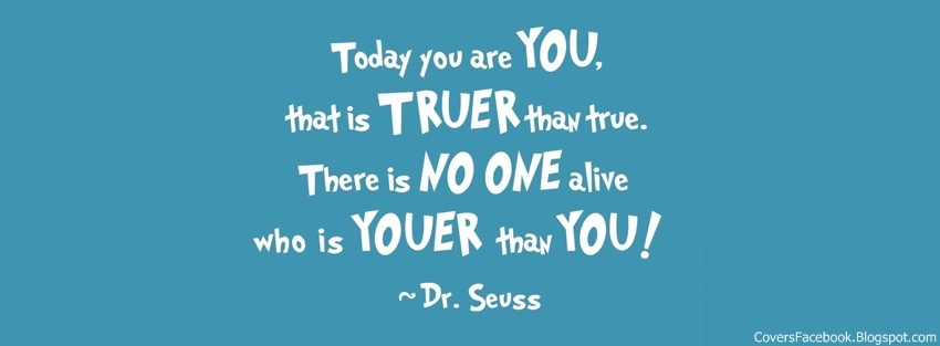 Dr. Seuss Quotes Facebook Timeline Cover, FB Covers