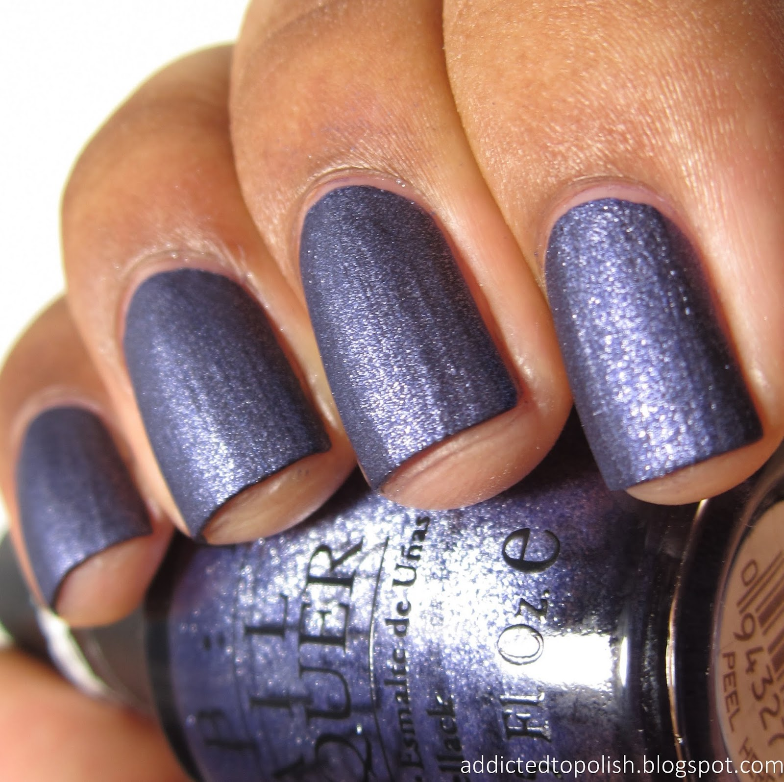 Addicted to Polish: OPI Ink Suede