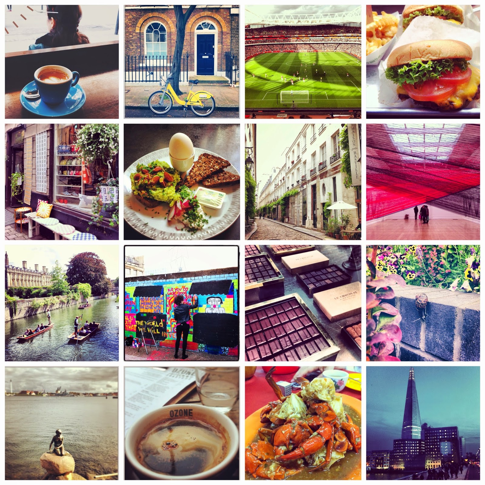 Arya Instagram Collage