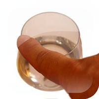 Experimento música con copas del cristal