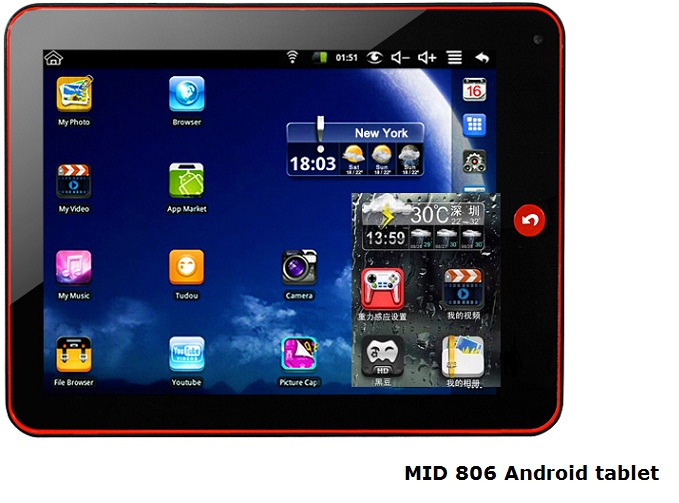Android MID 806 tablet review . Here is another cheap Google Android