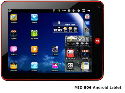 MID 806 Android 2.2 tablet review 