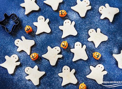 Mleczno - waniliowe żelki na Halloween