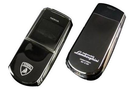 Sirocco Lamborghini Edition of Nokia 8800