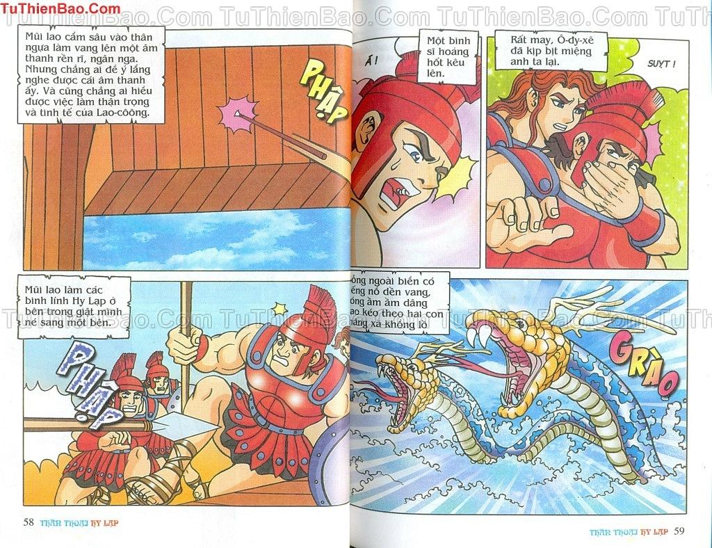 Thần thoại Hy Lạp Chapter 14 - Trang 28