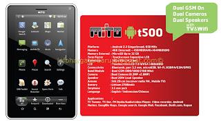 Harga MITO T500 Tablet Spesifikasi 2012