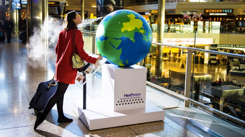 Marketing olfativo y digital signage Londres