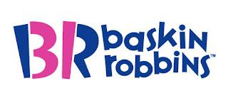 logo da sorveteria baskin robbins