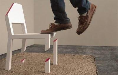 Tek ayaklı sandalye