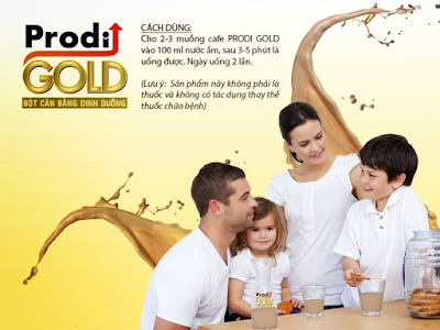 công dụng của Prodi Gold
