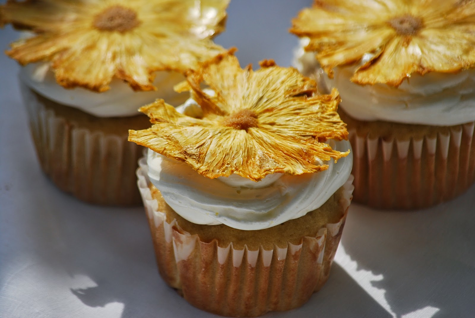 My story in recipes: Pina Colada Cupcakes