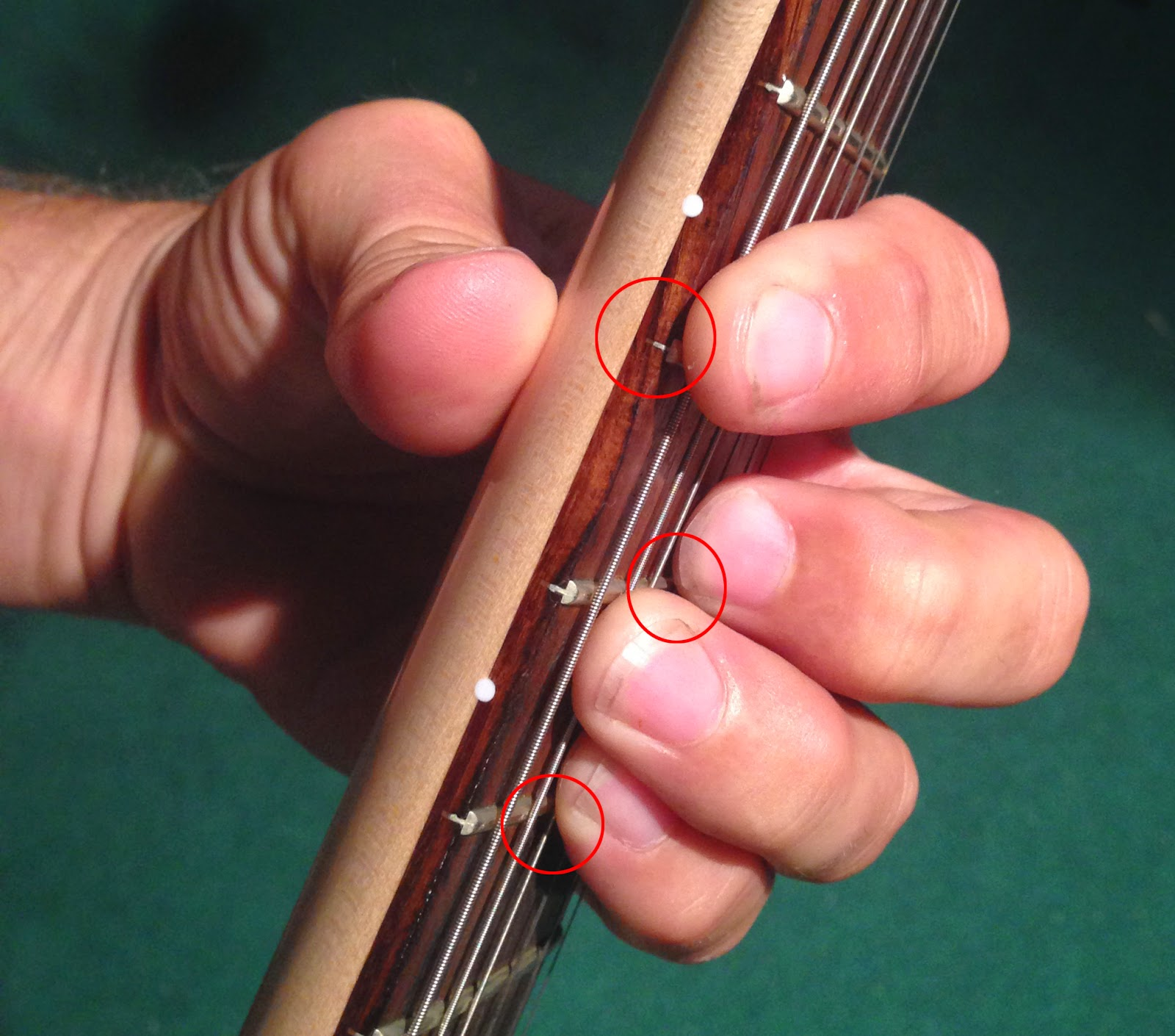 Music Notes Barre Chord Tips