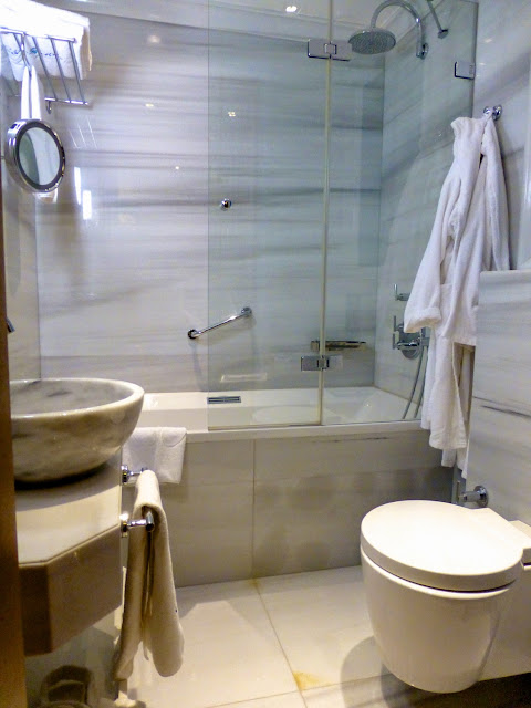 Cuarto de baño de la habitación del Hotel Celine de Estambul