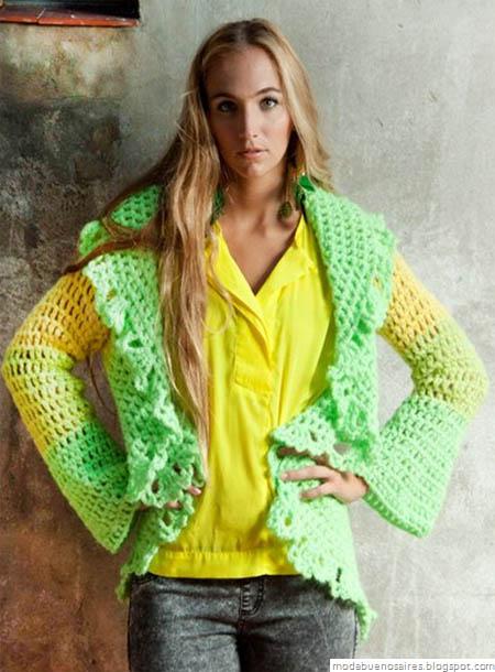De las Bolivianas tejidos artesanales. Tejidos moda 2012 2013.