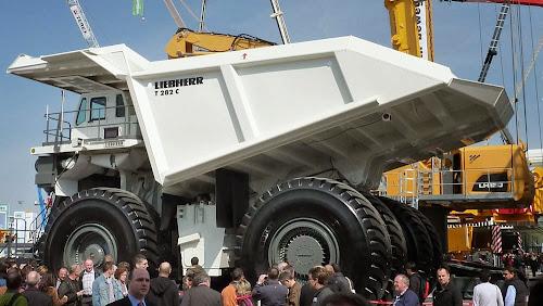 Liebherr T 282c Mining Truck - maiores caminhões de mineração do mundo