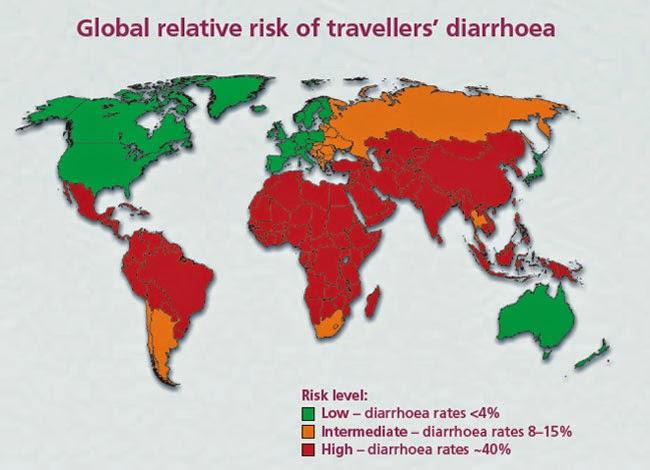 Travelers diarrhea cipro cdc bmi