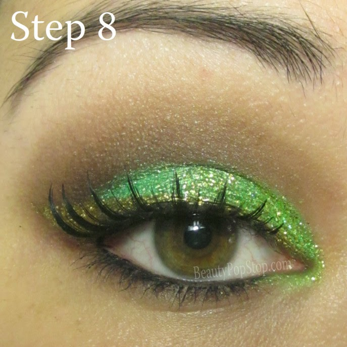 st patrick's day makeup tutorial using faux lash colette false lashes