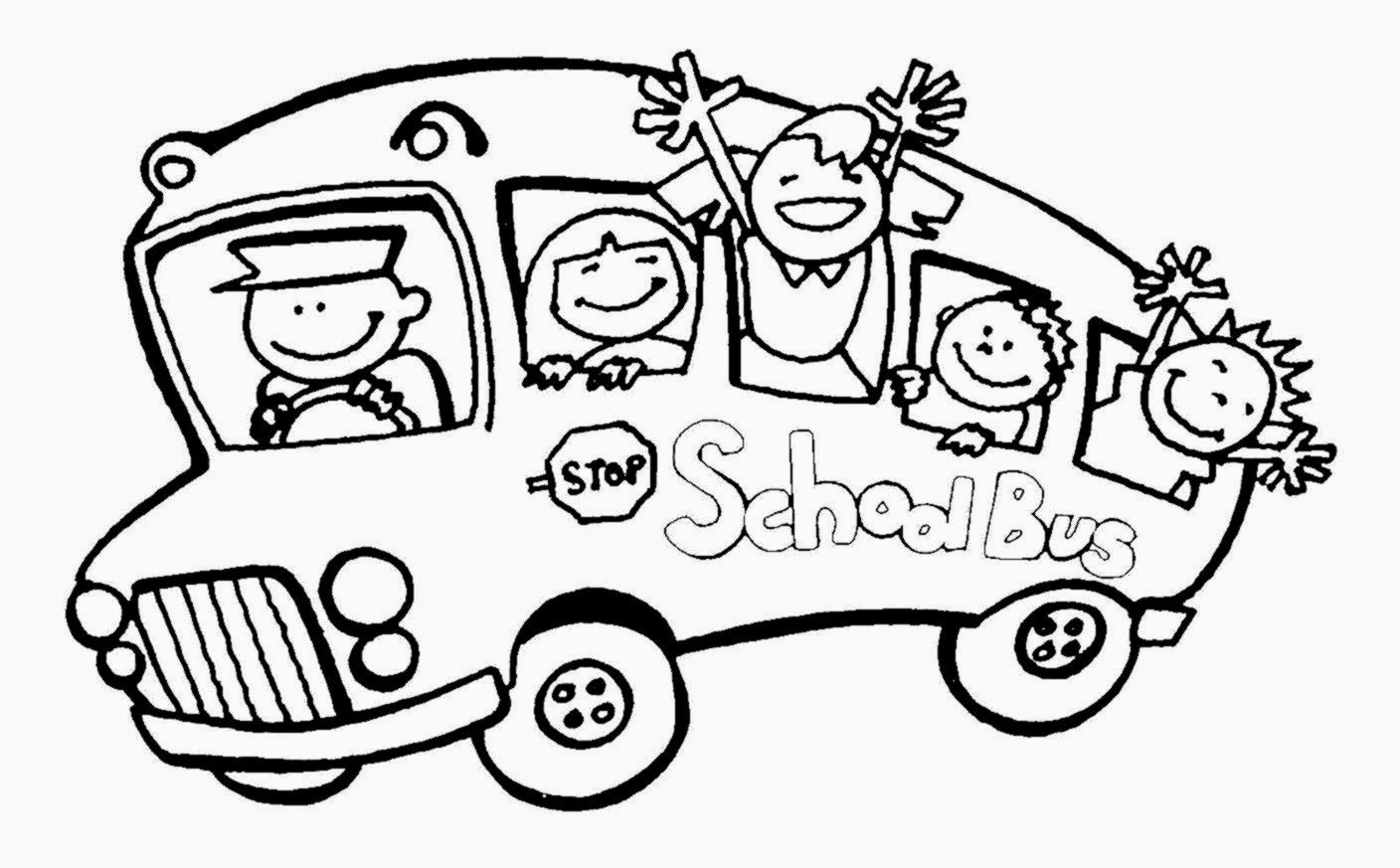 School bus coloring pictures free coloring pictures for Coloring pages school bus